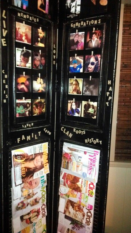 Look what I made from a closet door.