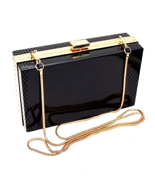 Womens Bags Clutches & Evening Bags Evening Bag- Women Transparent Clear Clutch#Eyes