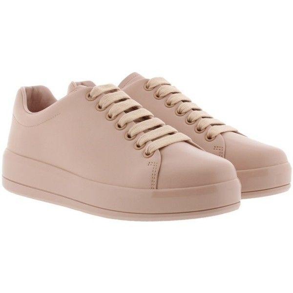 Prada Sneakers - Mirror Sneaker Pesca - in rose - Sneakers for ladies ($525)