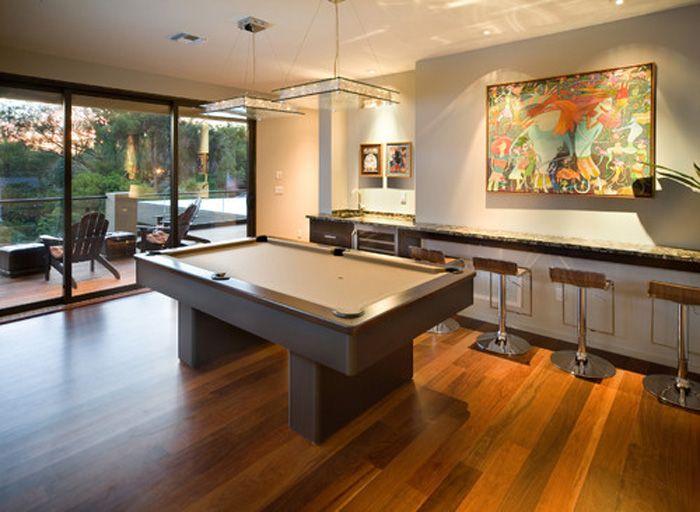 Modern Pool Table Light Fixtures