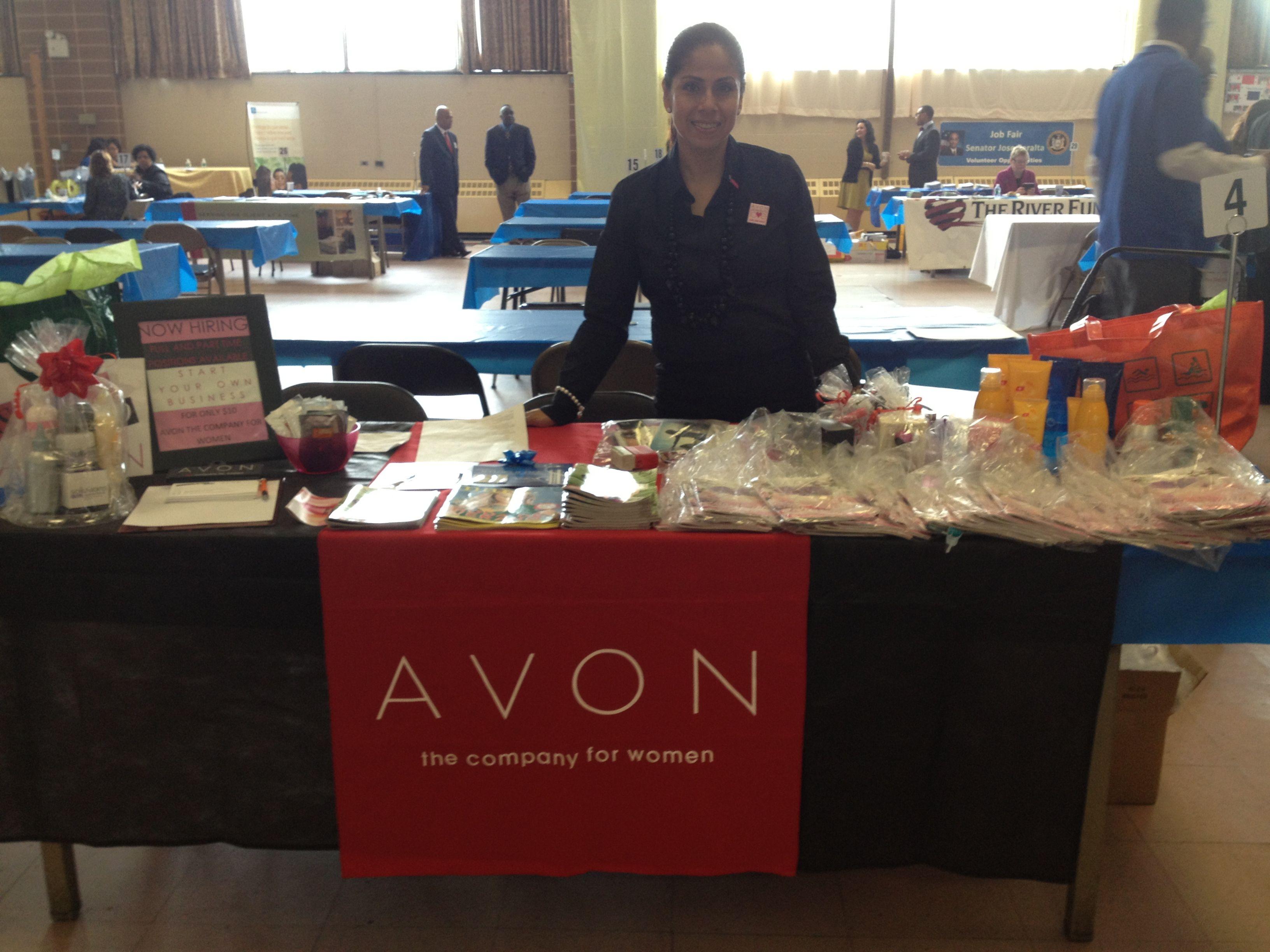 At a job fair got lots of leads job fair avon women