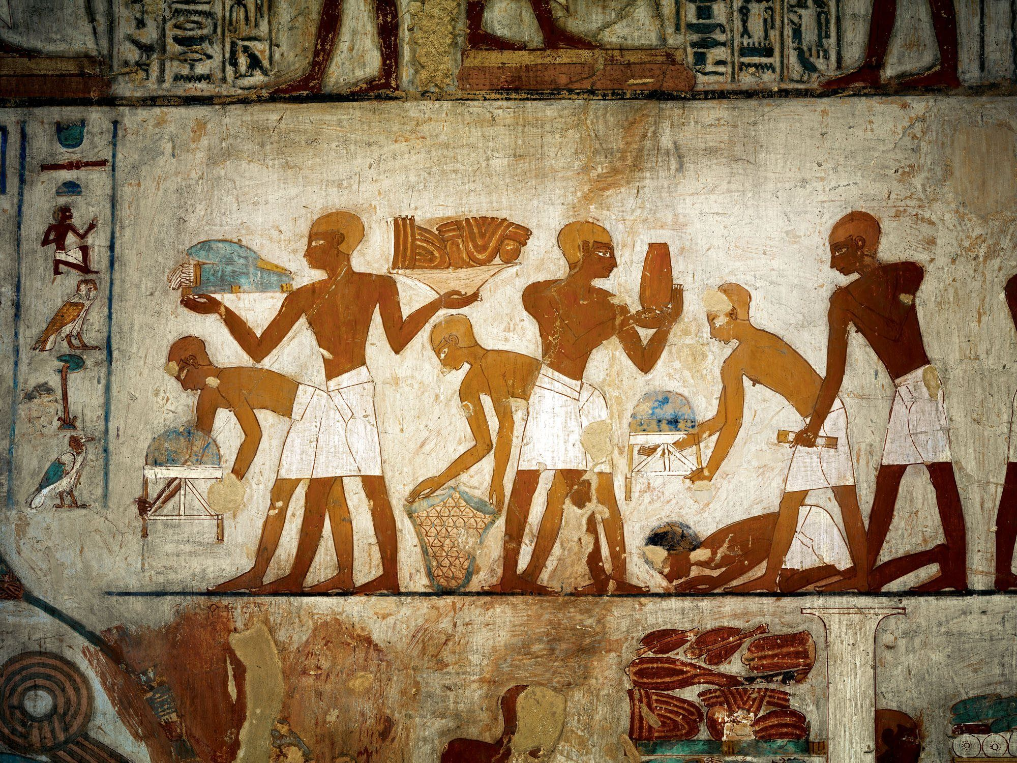 Ancient egypt marketplace merchandising hist rico for Nas mural queens