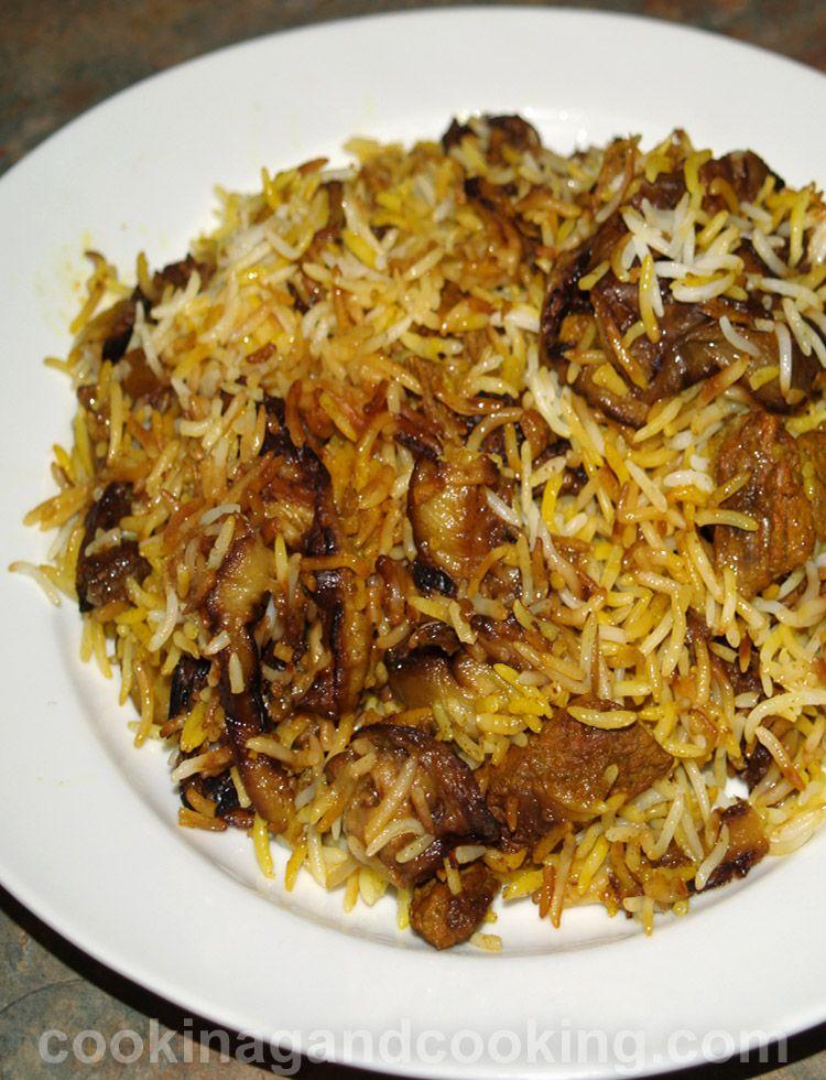 Eggplant And Beef Rice Recipe Arabic Eggplant Recipe Beef