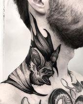 Photo of Best Neck Tattoo Ideas for Men  Best Neck Tattoo Ideas for Men #necktattooideas …
