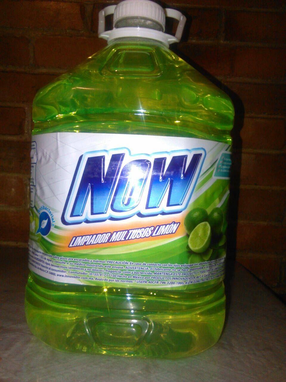 Limpiador multiusos lim n marca now de 5l productos de limpieza limpiador limpiador - Limpia cristales casero ...