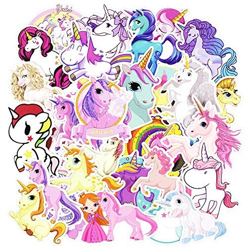 Zheyistep 30 pcs unicorns cool laptop sticker for iphone macbook car motorcycle luggage water bottle diy bumper bomb vinyl decal stickers for guy s