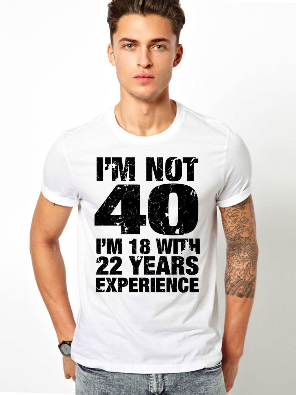 40th Birthday Gift For Man Mens T Shirt