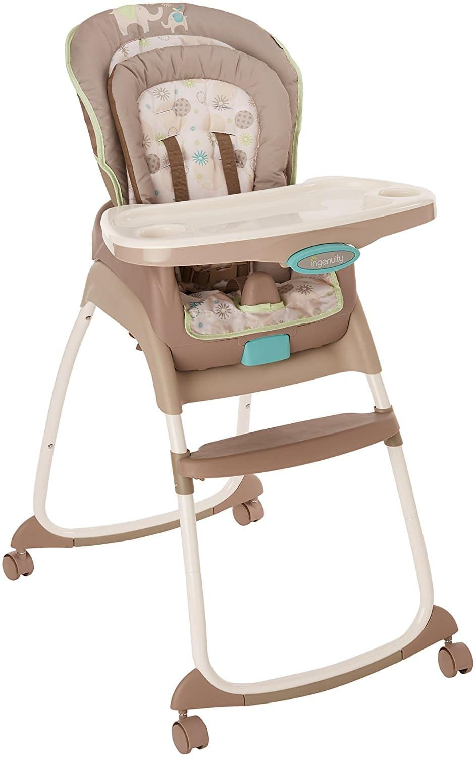 best high chair for baby folding quad with canopy top 10 chairs in 2018 ingenuity trio deluxe 3 1 sahara burst