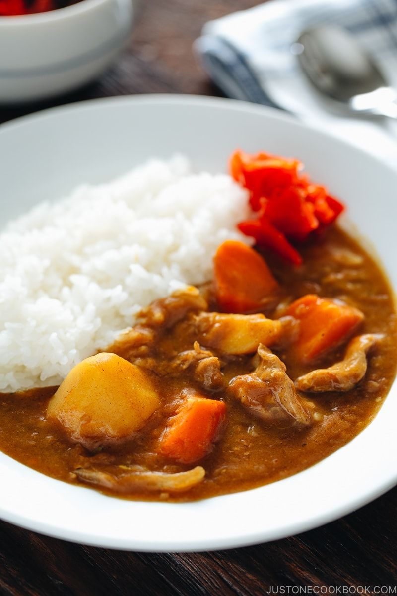 Pressure Cooker Japanese Curry カレーライス 圧力鍋 Just One Cookb Recipe Japanese Curry Easy Instant Pot Recipes Easy Japanese Recipes