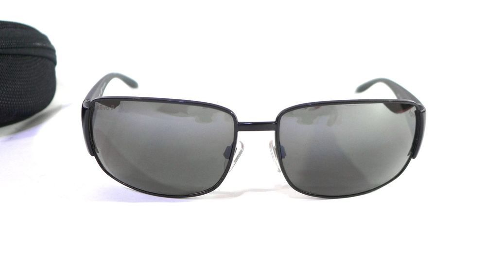 96214eaab0a Discontinued REVO Sunglasses 3076 Matte Black with Polarized Lenses   Case  Italy