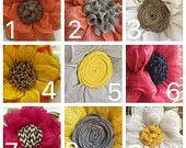 Customize your wreath, Sunflower Center Options, Front Door Decor