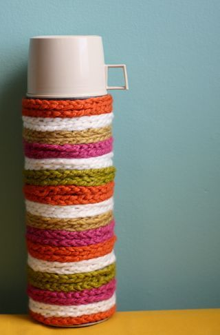 Crochet DIY tutorial for thermos - so cool