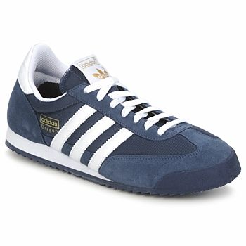 adidas sneakers dragon bleu