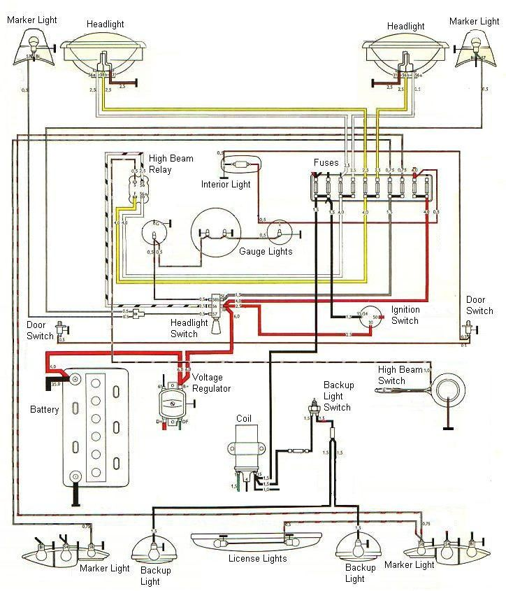 578e3b7983720abb1f3796a2afc61db3 the karmann ghia online resource technical (electrical 1971 karmann ghia wiring diagram at couponss.co