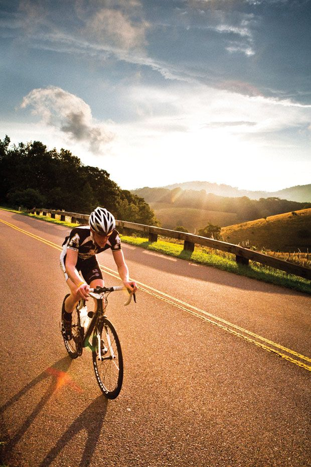Pedal Eat Sleep Guide To Bicycling The Blue Ridge Parkway Blue