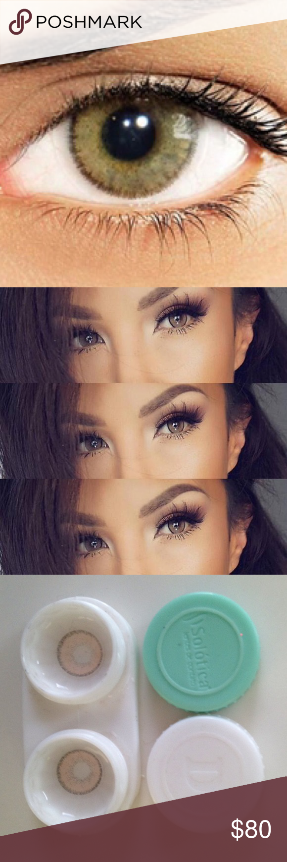 Solotica Natural Colors Ocre Hazel Contacts Beautiful ...