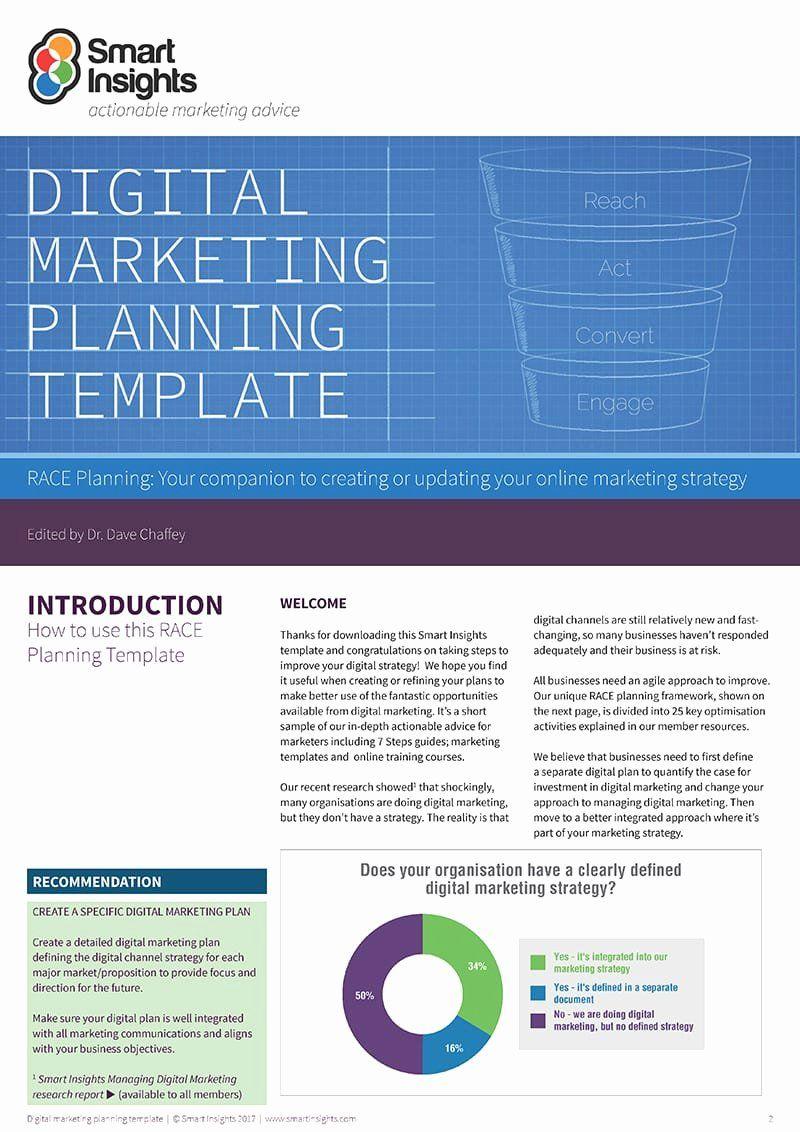 25 Digital Marketing Proposal Template in 2020 Marketing
