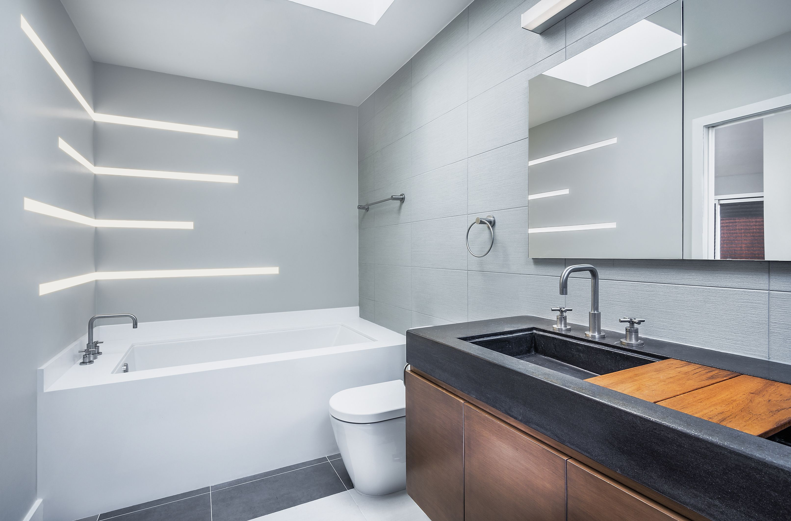 bathroom lighting contemporary. Recessed LED Lighting | Modern For The Bathroom TruLine 1.6A - By Contemporary I