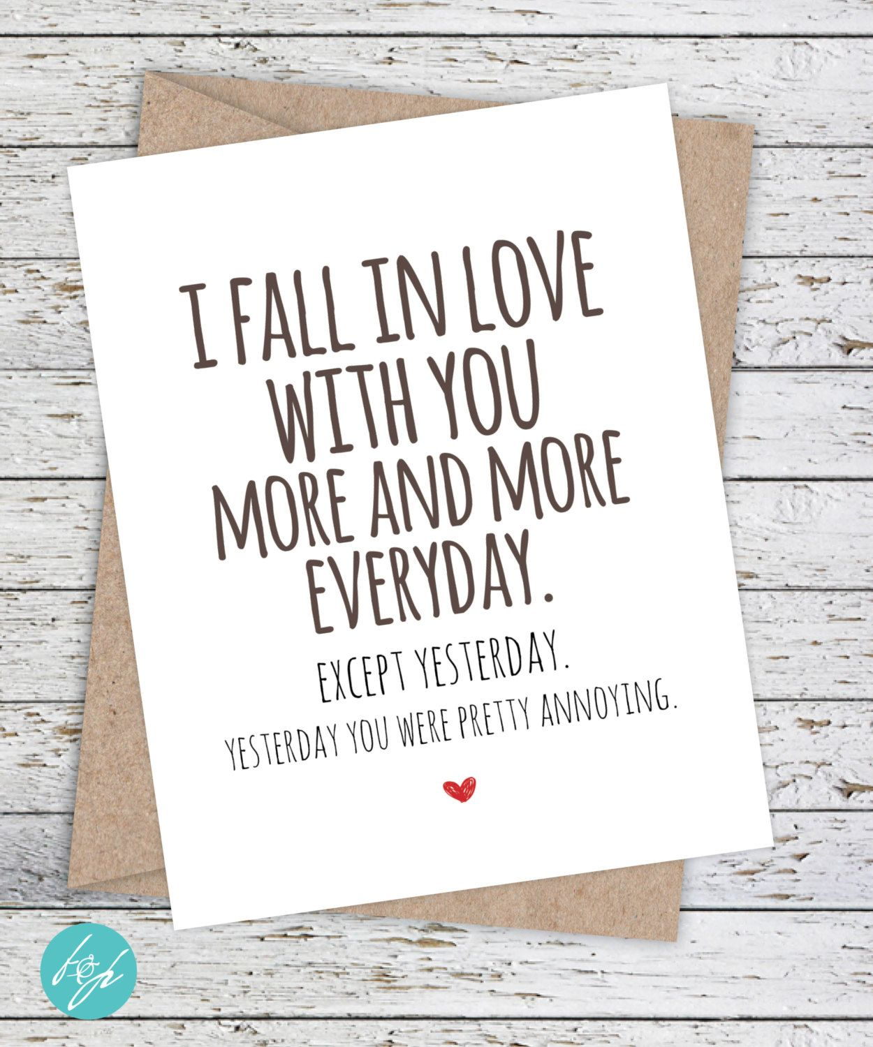 i won/'t give up on us card blank birthday QUOTE GREETING 5X7 love