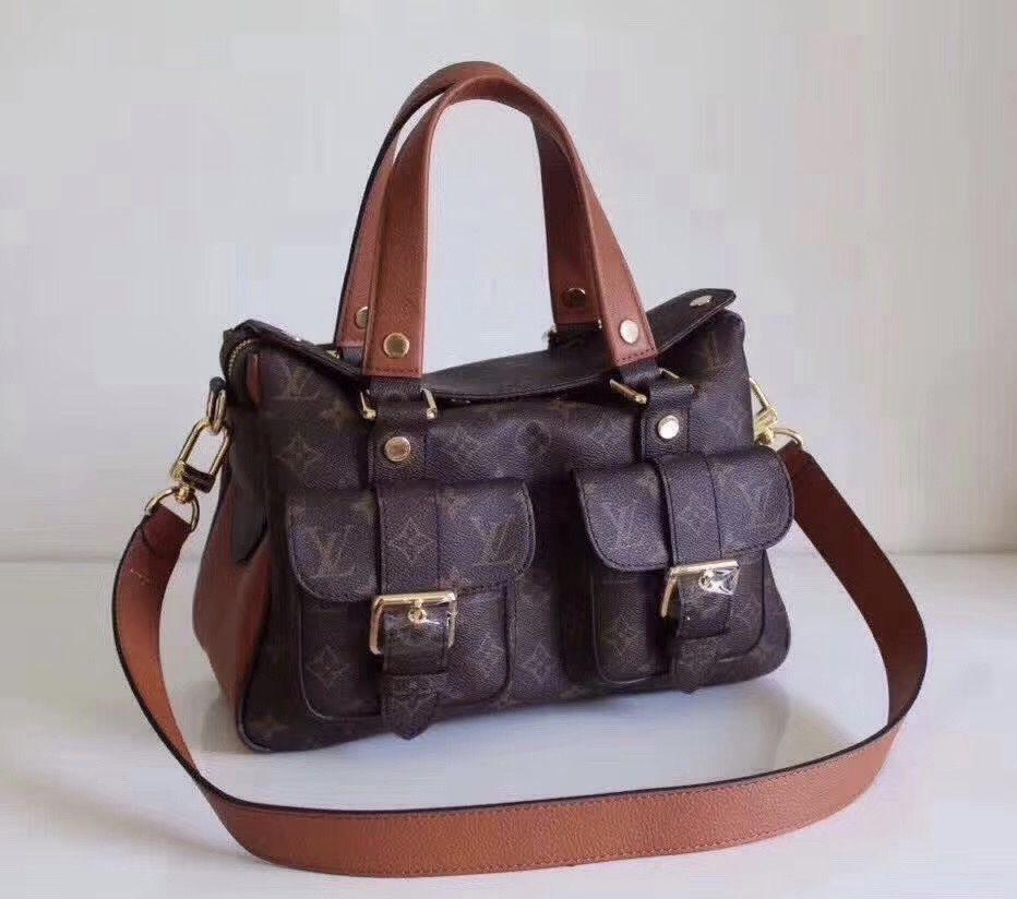 Louis Vuitton MANHATTAN M43481 - Bella Vita Moda #louis vuitton  #louisvuittonlover #louisvuittonbag # c197b52aeb6d6