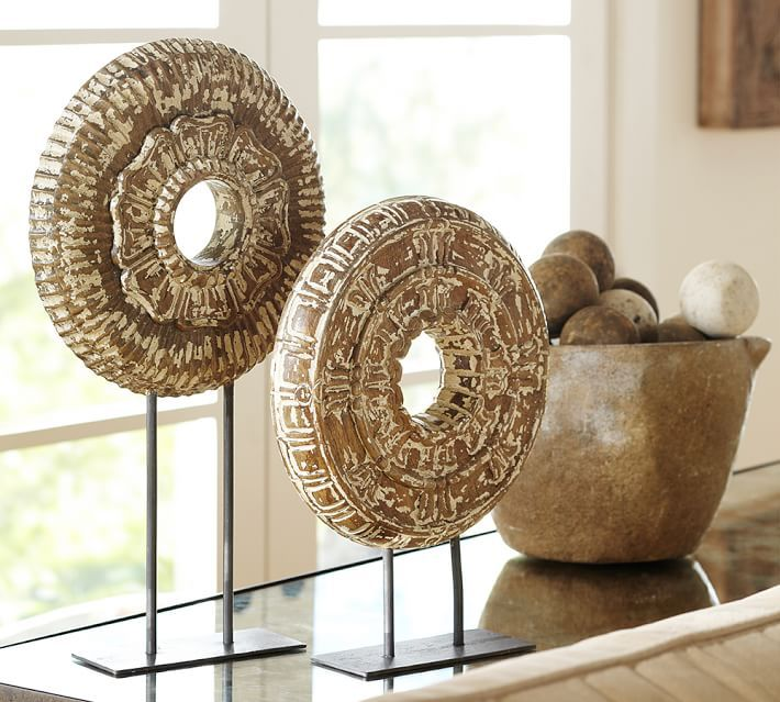 charming ceiling wall metal art round decorum for decor of set wood medallion