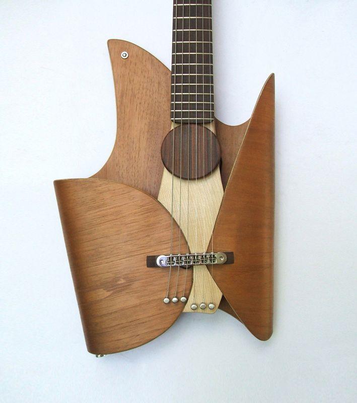 Awesome Design Ideas Leaf Guitar By Ezequiel Galasso Guitar Design Guitar Design