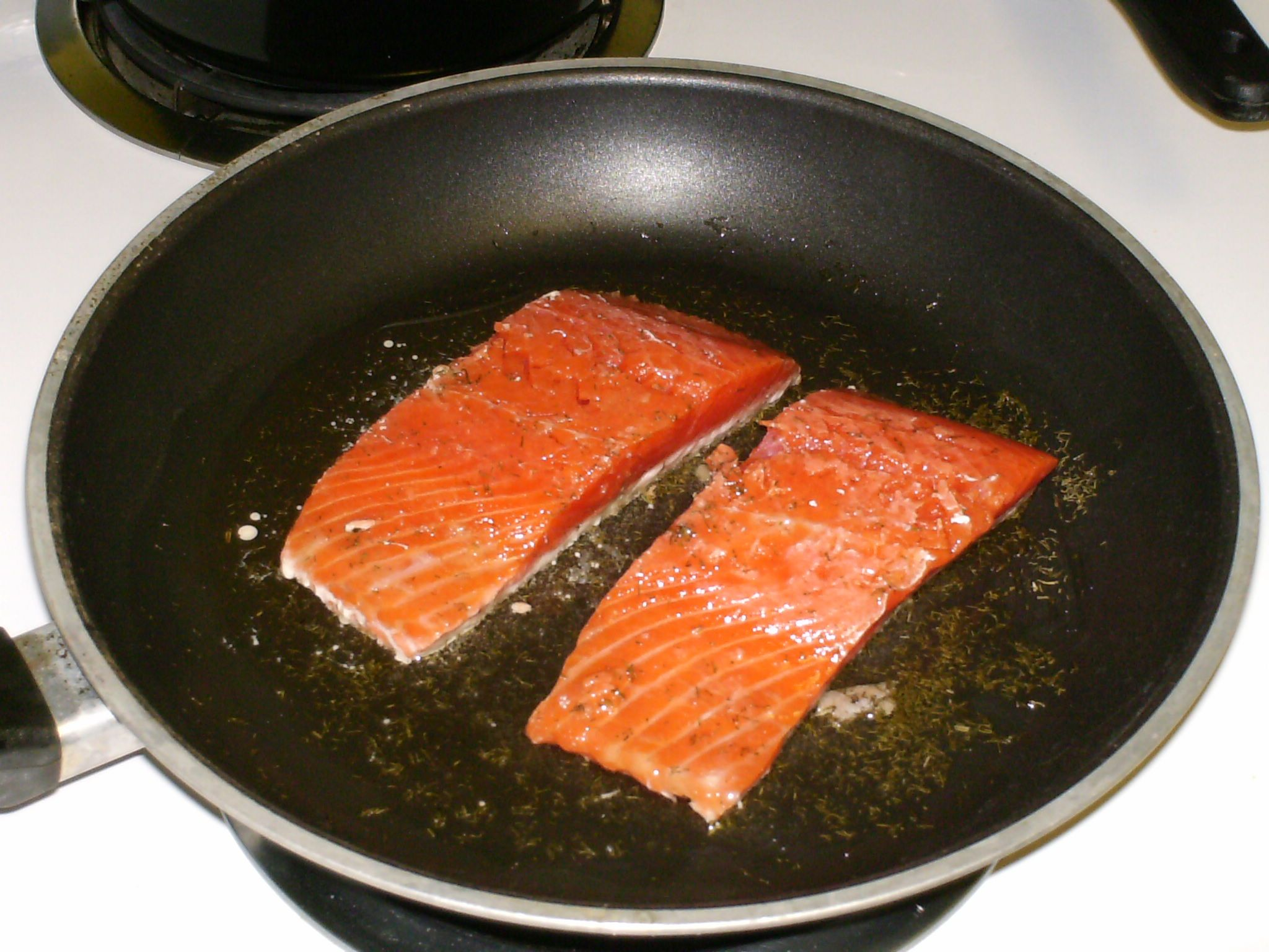 how to cook salmon fish fillet
