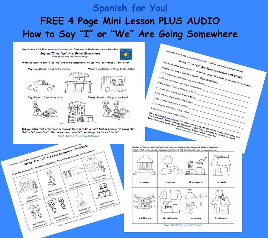 FREEBIE: If you have been wanting to give Spanish learning a try, you could get  your feet wet w… | Spanish lessons for kids, Mini lessons, Spanish teacher  resources