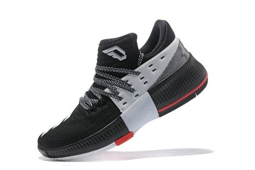 classic fit b1202 0c8a3 Newest Adidas Dame 3 CNY Black White Anthracite