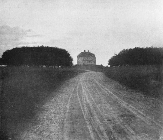 A. Schük, Ohne Titel (Haus am Weg), 1906
