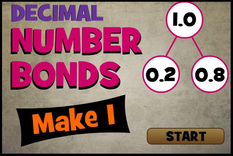 Math Playground Number Bonds Decimals Menalmeida