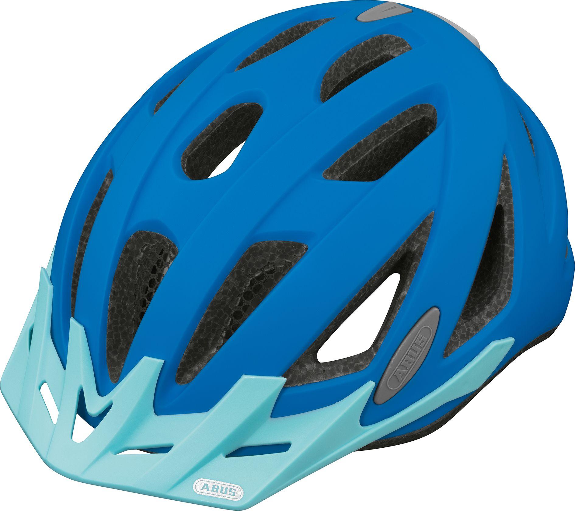 Urban I Neon Blue ABUS ciclismo cascos