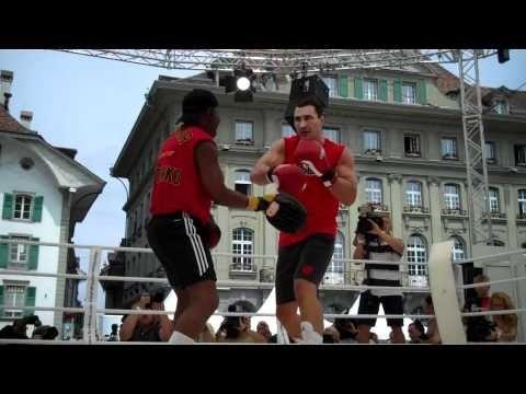 Public workout - Wladimir Klitschko vs. Tony Thompson Live - Boxen.com.de - Boxen Live Stream - Das Sport Video Portal für Amateurboxer von Amateurboxer - Sport Live
