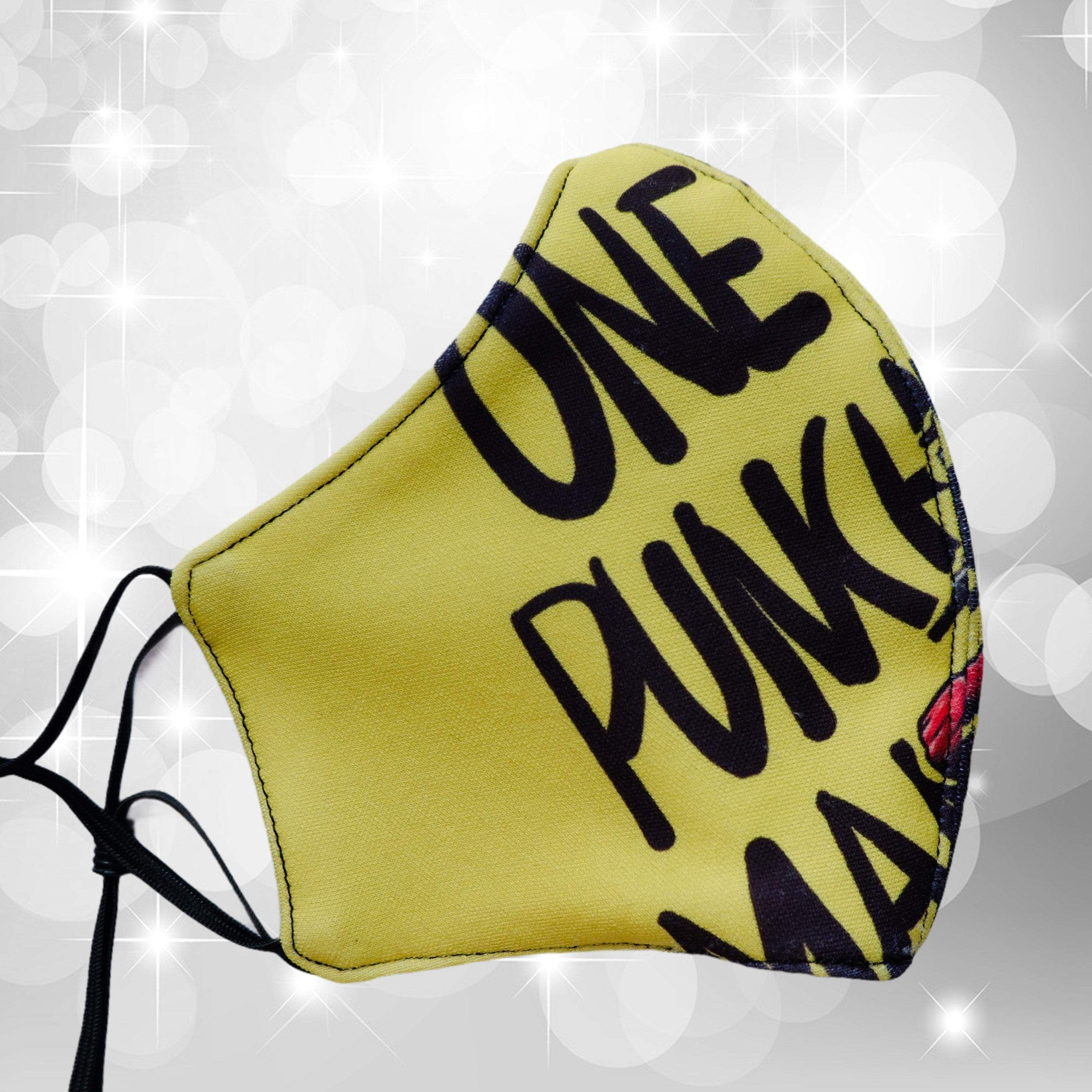 Photo of One Punch Man Characters Adult Face Mask