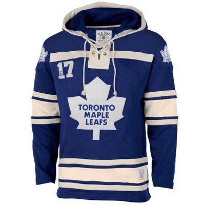 e83014e55 Men s Toronto Maple Leafs Old Time Hockey Royal Blue Home Lace Heavyweight  Hoodie