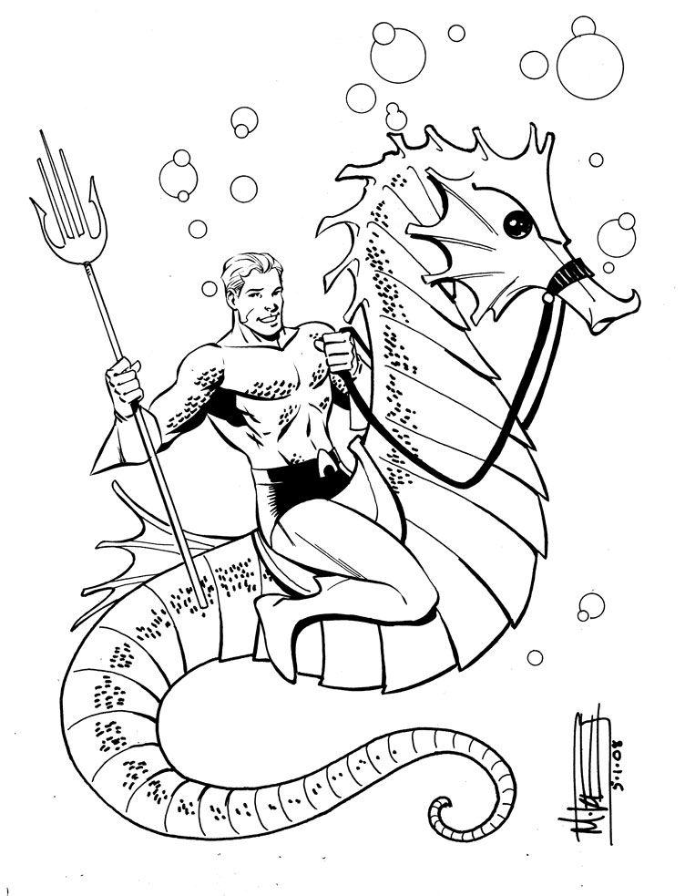 Aquaman by Miketron2000.deviantart.com on @DeviantArt   Aquaman ...