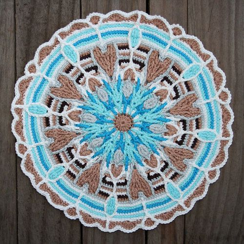 crochet mandala - Buscar con Google   Mandala   Pinterest   Häkeln