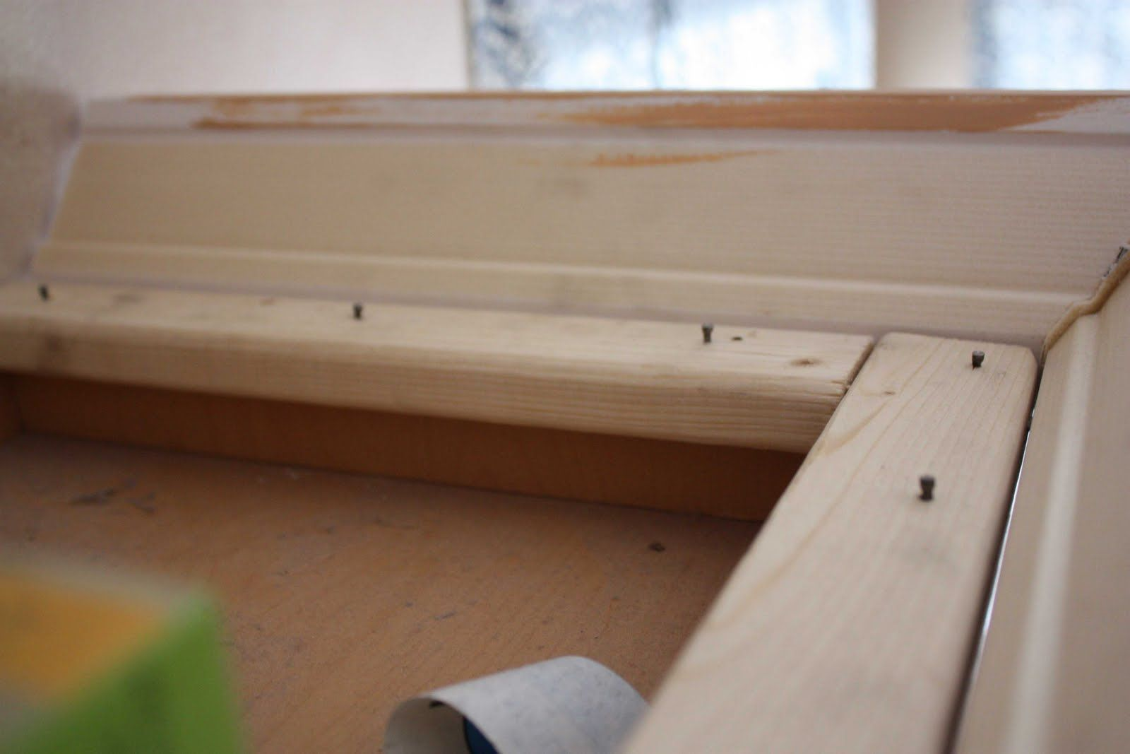 Adding crown molding above cabinet or shelf | I Could Do That (DIY ...