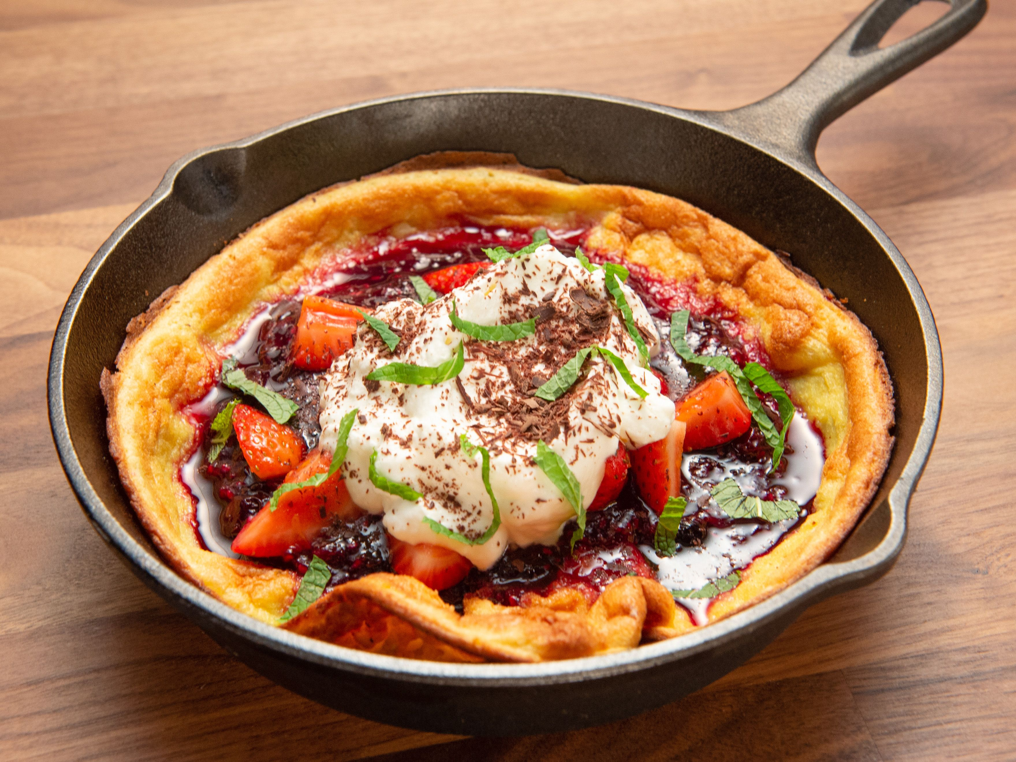 Dutch Baby with Berry Compote | Recipe | Worst cooks, Food ...