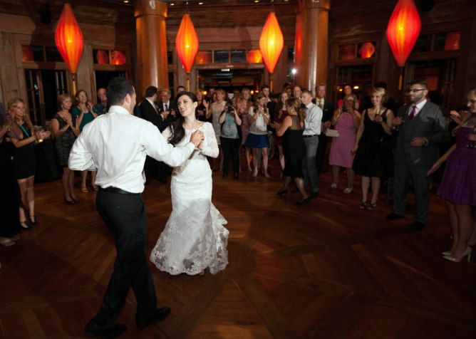 First Dance At A Classic Restaurant Wedding Reception Found On
