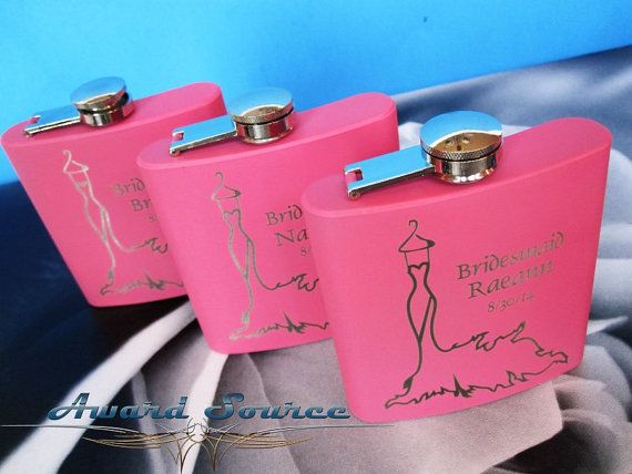 Bridesmaid Gifts 1 Wedding Flask Looking For A Personalized Gift Our Will Make An Excellent