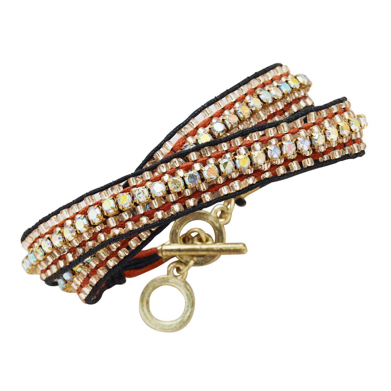 Marsala Dazzle Bracelet