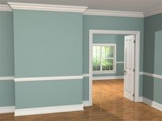 chair rail living room. Colonial Teal Living Room - Google Search | For The Home . Chair Rail