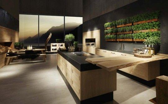 cucine legno massello moderne - Cerca con Google | Arredamenti ...