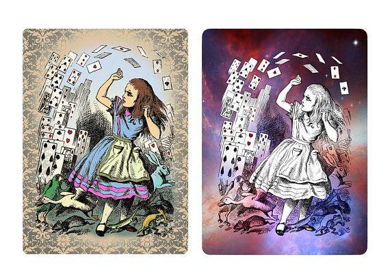 Alice in Wonderland needs no explanation. #aliceinwonderland #cards