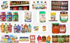 Best branded solid food pouches and bottles for your baby.