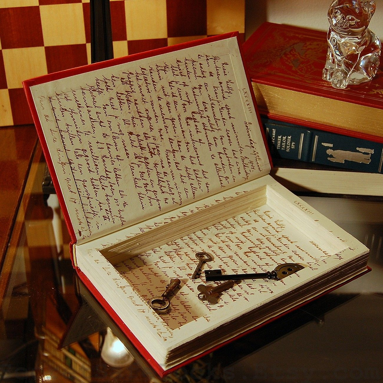 DIY Secret hollow book storage box | DIY + Crafts | Book