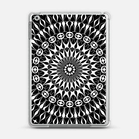 Check out my new @Casetify using Instagram & Facebook photos. Make yours and get $10 off using code: WTMAF6  #mandala #ipad #case #casetify #design #white #black