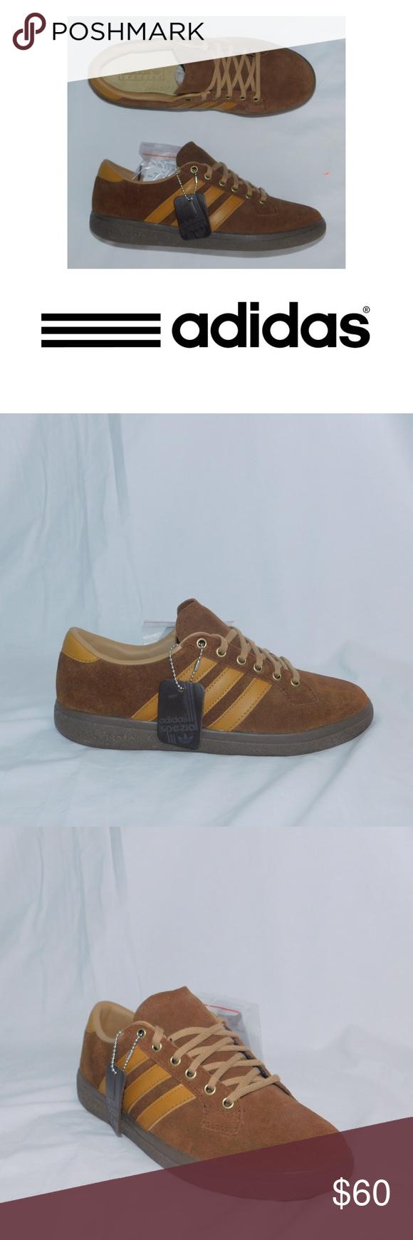 Adidas Originals Bulhill Spezial Leather Sneaker Brand New Adidas ...