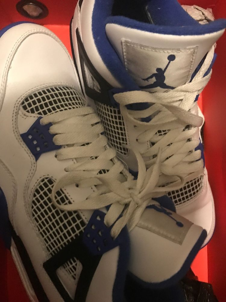 best service 0b717 2332d Air Jordan Retro 4 Motorsports #fashion #clothing #shoes ...